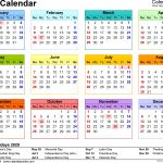 2020 Calendar Uk Printable 2020 Calendar Download 17 Free Printable Excel Templates