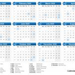 2020 Calendar Uk Printable Calendar 2020