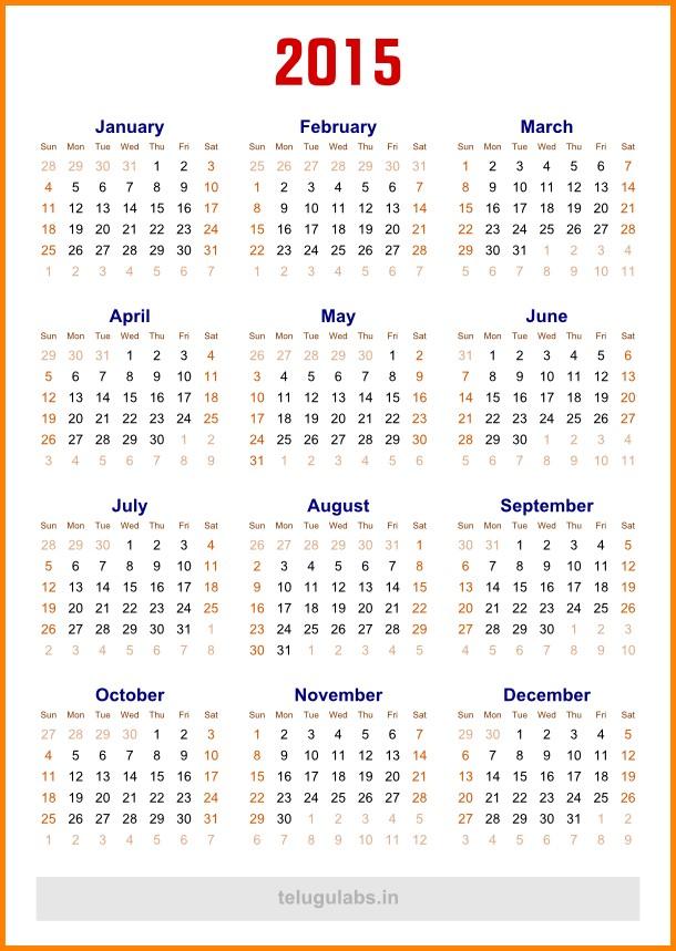 5 Year Calendar Printable 5 Year Calendar Template Calendar Template 2018
