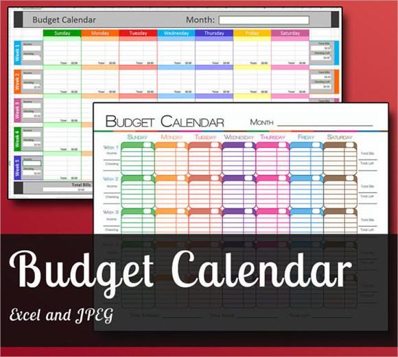 7 Bud Calendar Templates – Free Samples Examples