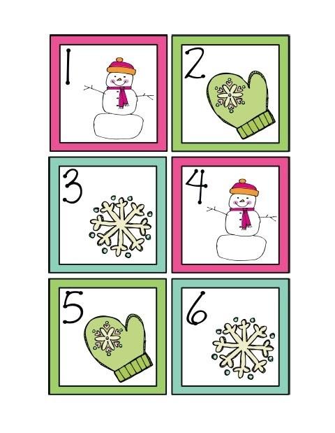 Calendar Cards Printables