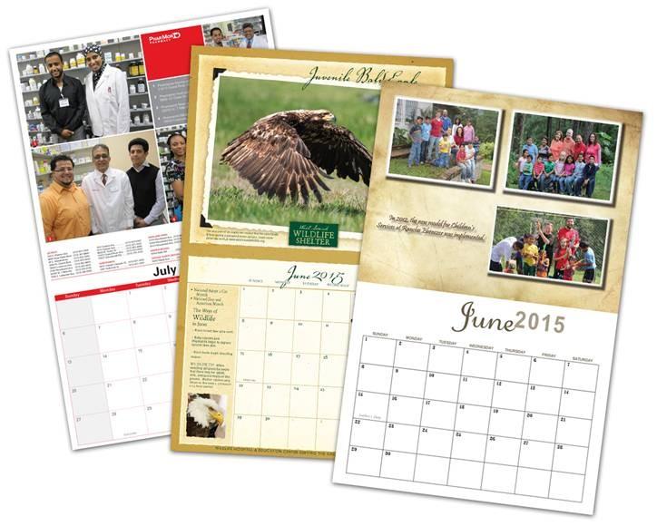 2015 Custom Wall Calendars