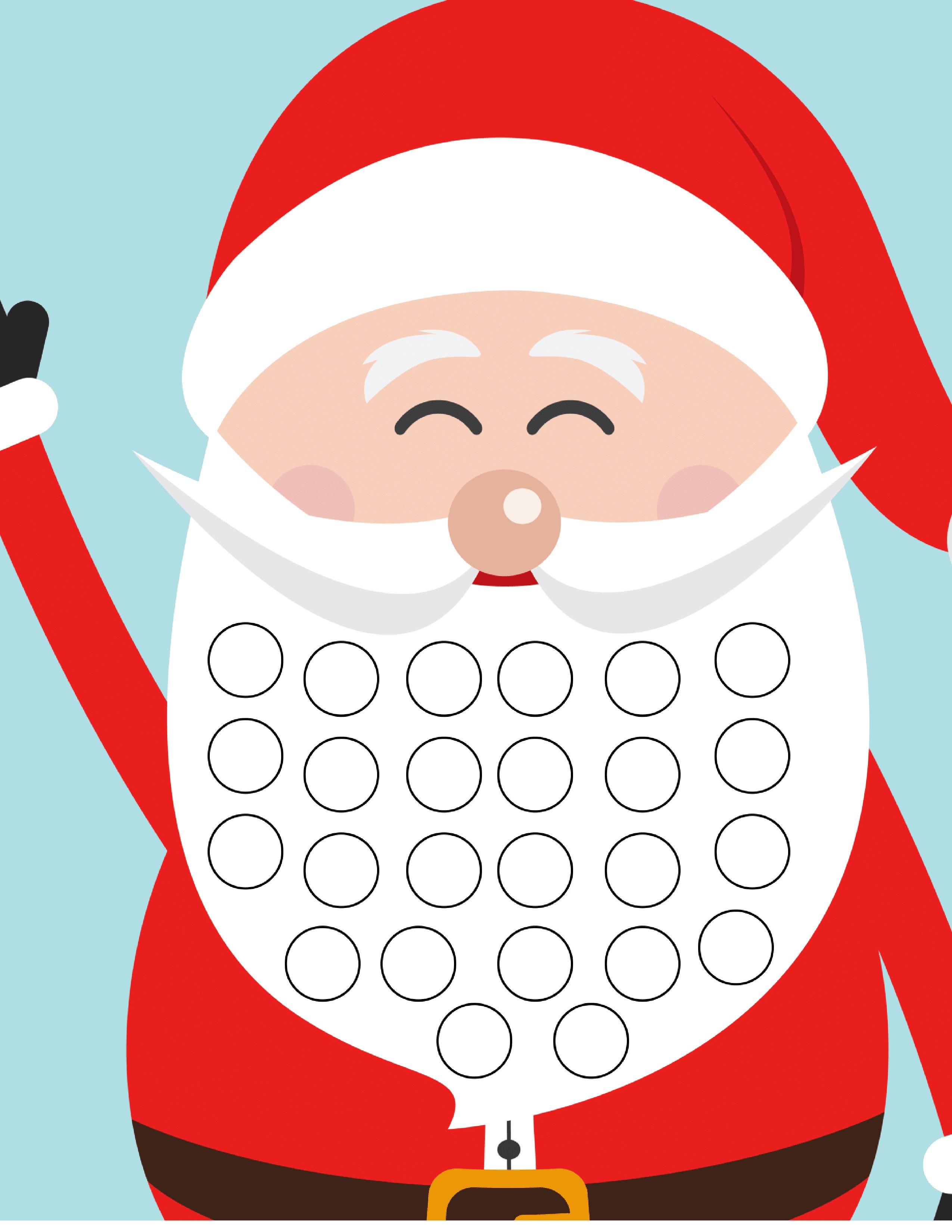 Christmas Countdown Calendar Printable Free Christmas Countdown Calendar