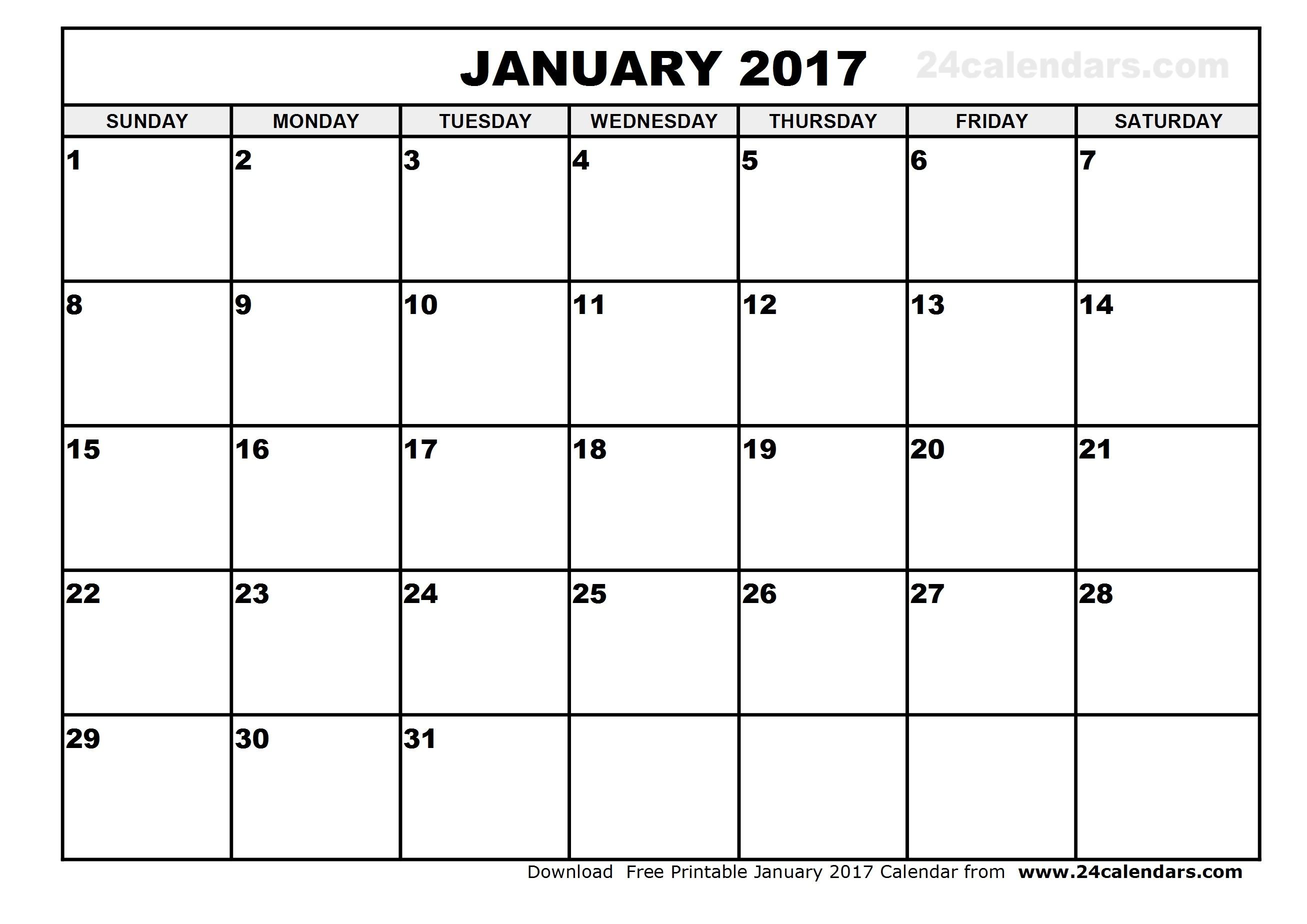 Print Calendar December 2017 January 2017 Australia