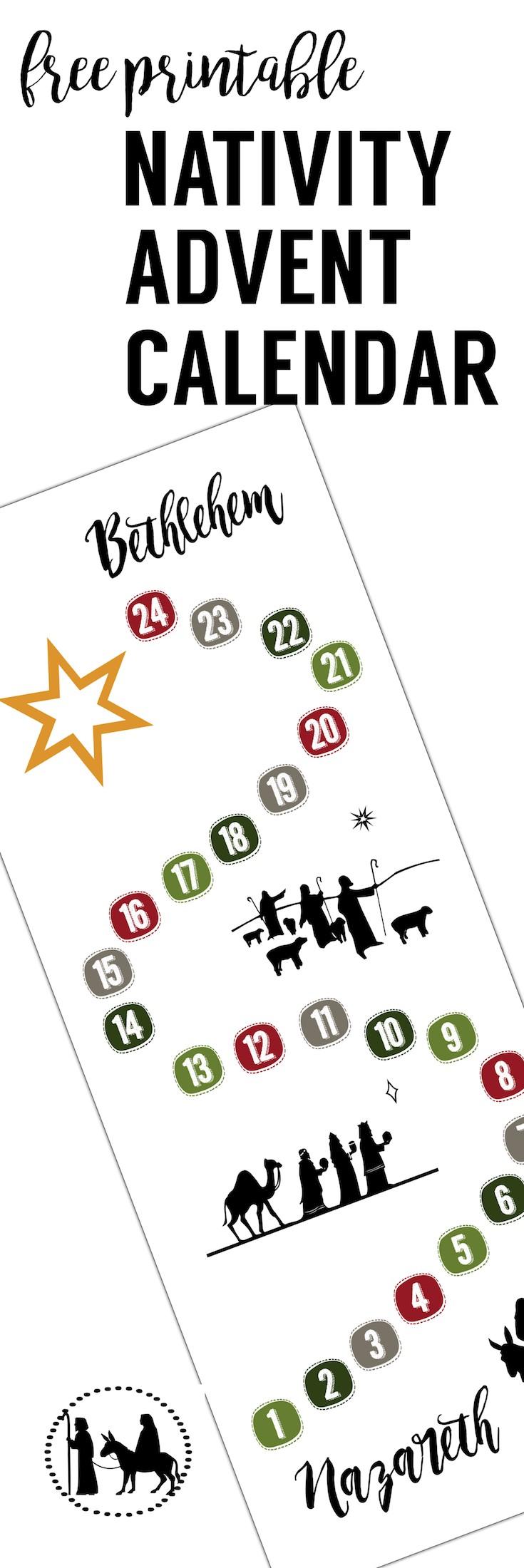 Free Printable Advent Calendar Free Advent Calendar Printable Paper Trail Design