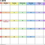 Free Printable Calendar Oct 2019 October 2019 Calendars for