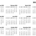 Free Printable Calendar Templates 2019 2019 Calendar Amazonaws