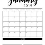 Free Printable Calendar Templates 2019 Free 2019 Printable Calendar Template 2 Colors I