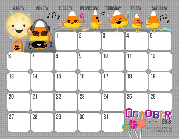 Free Printable 2013 Calendar For Kids Parenting Times