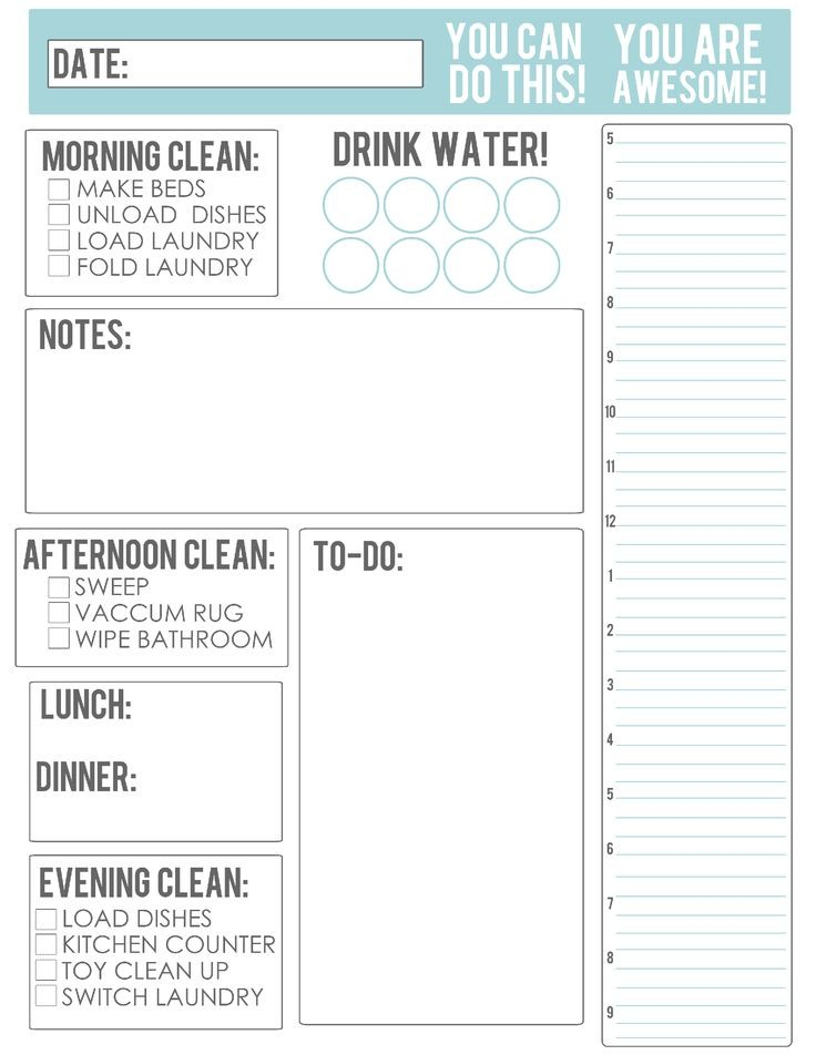 22 best Printable Calendars Planners & To Do Lists 2016