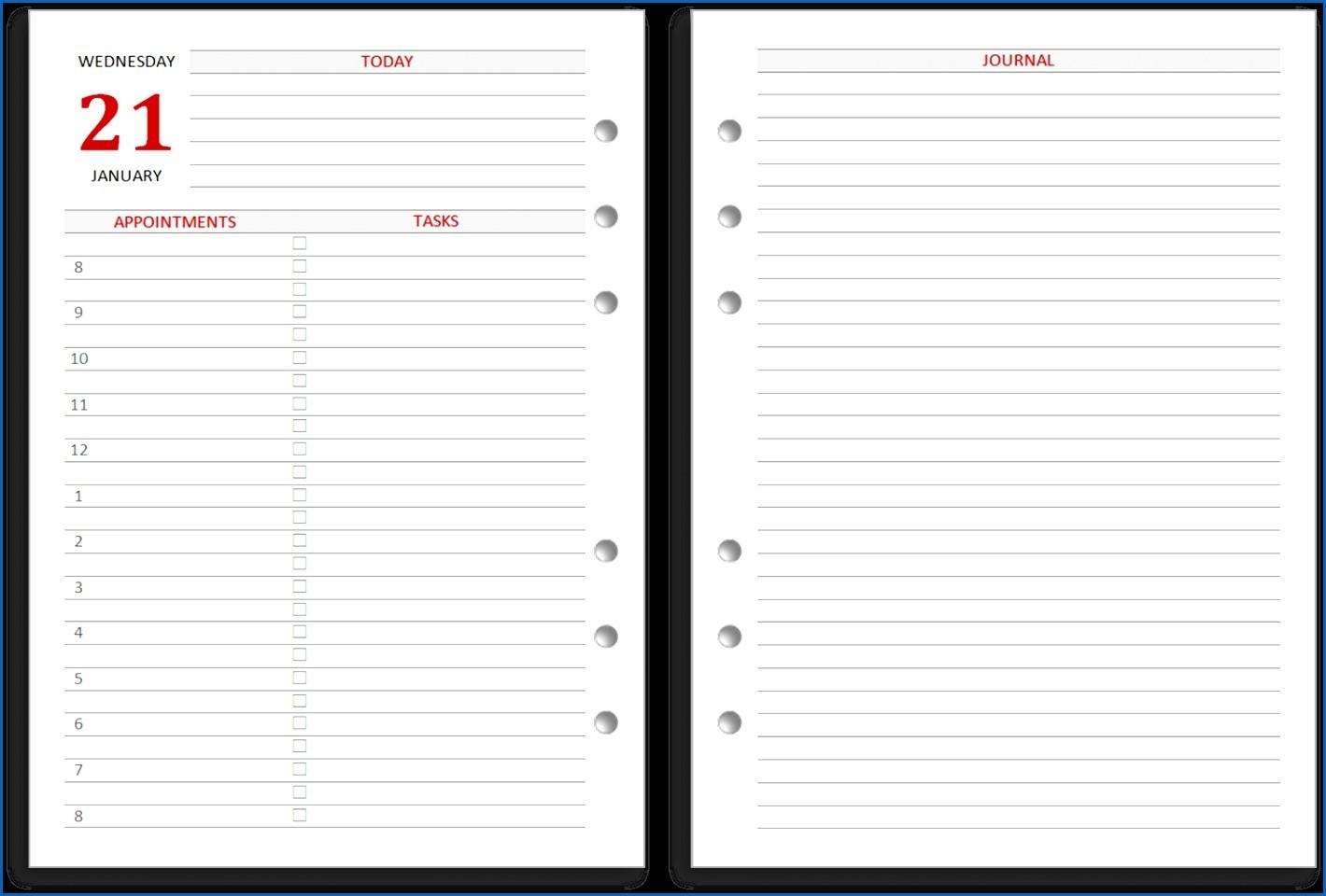 Daily Calendar 2020 Printable Free Printable Calendars and