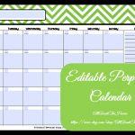 Free Printable Editable Calendars Editable Printable Calendar Perpetual Calendar Chevron
