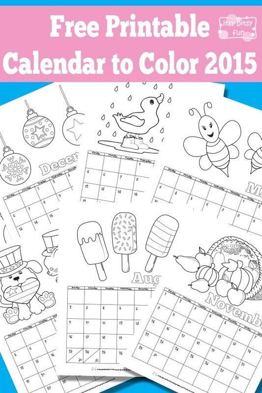 Free Printable Kids Calendar Calendar for Kids Free Printable Calendar and Printable
