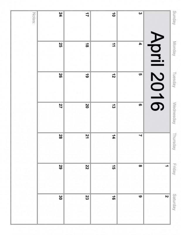 Full Size Printable Calendar Full Size Blank Printable Calendar Free Calendar Template