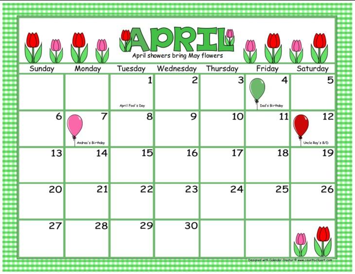 How to Make A Printable Calendar Calendar Creator Make and Print Your Own Calendars