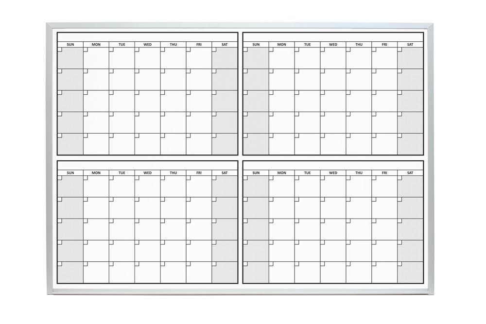 Printable 4 Month Calendar Printable 360 Degree