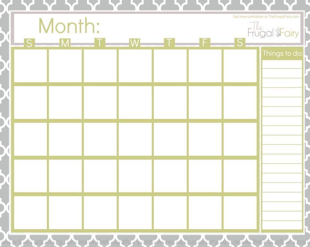 Printable Calendar Blank Calendar Printable Gallery Category Page 1