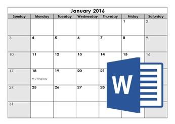 Printable Calendar Microsoft Word Calendar Templates Customize & Download Calendar Template