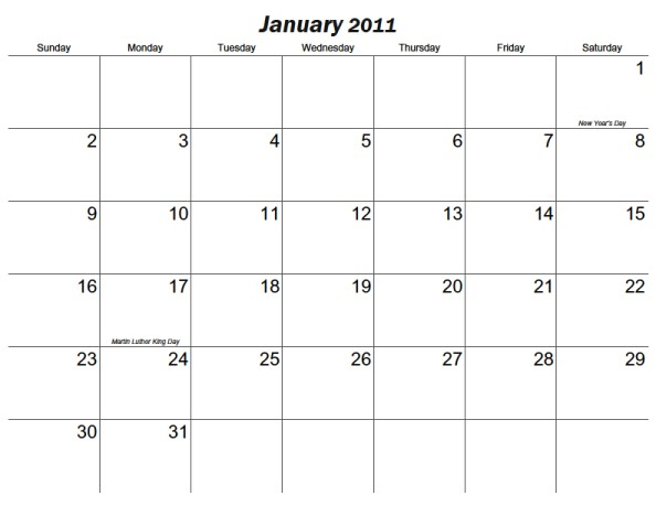 Box Calendar Print Calendar Printable Aztec
