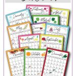 Printable Desk Calendar 2019 2019 Calendar Printable
