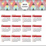 Printable Desk Calendar 2019 Printable Calendar 2019 United States