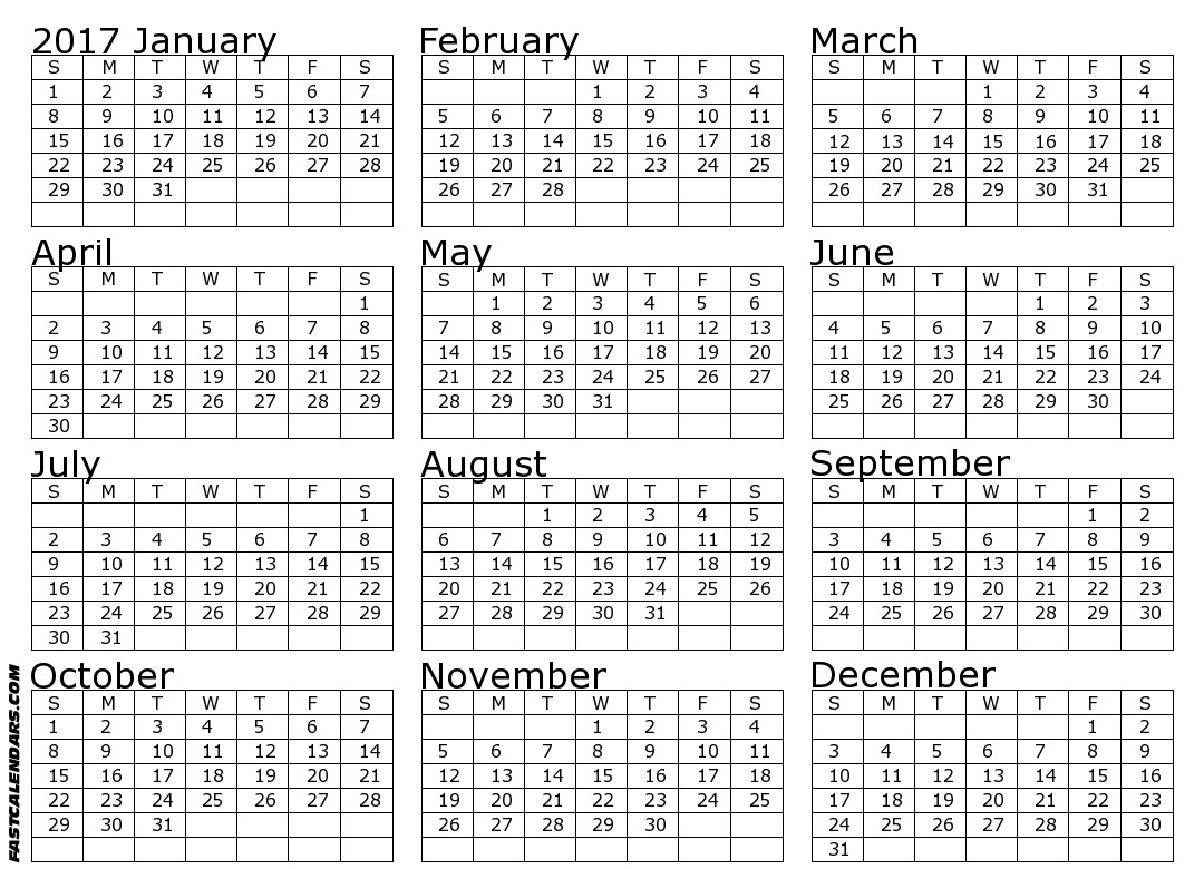 Free 2015 Printable Calendar Clean And Scentsible 2017