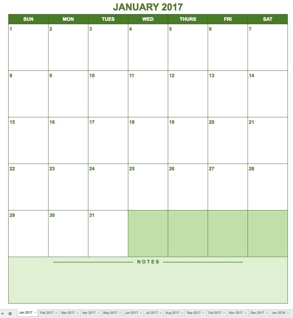 Printable Google Calendar Free Google Calendar Templates