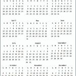 Printable Small Calendar 2020 2020 Calendar All About Me