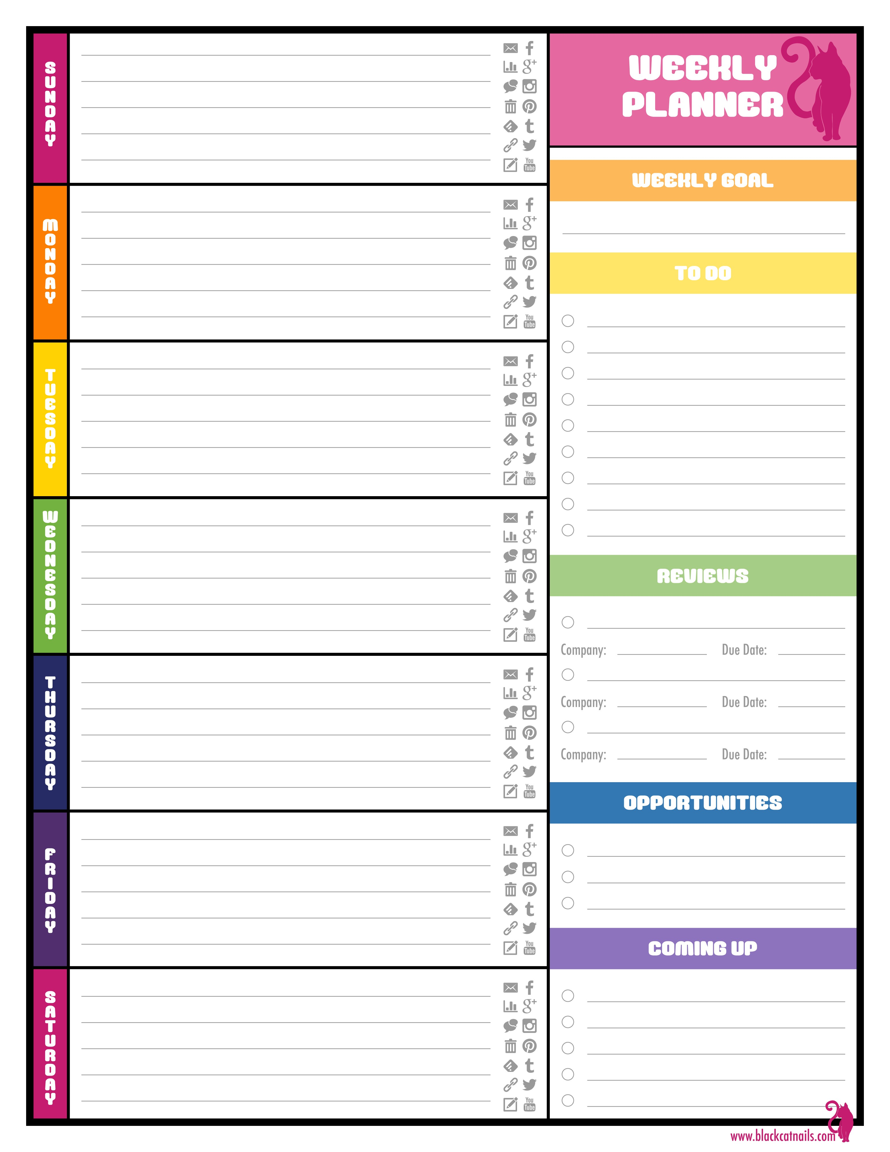 6 Best of Printable To Do List Weekly Monthly
