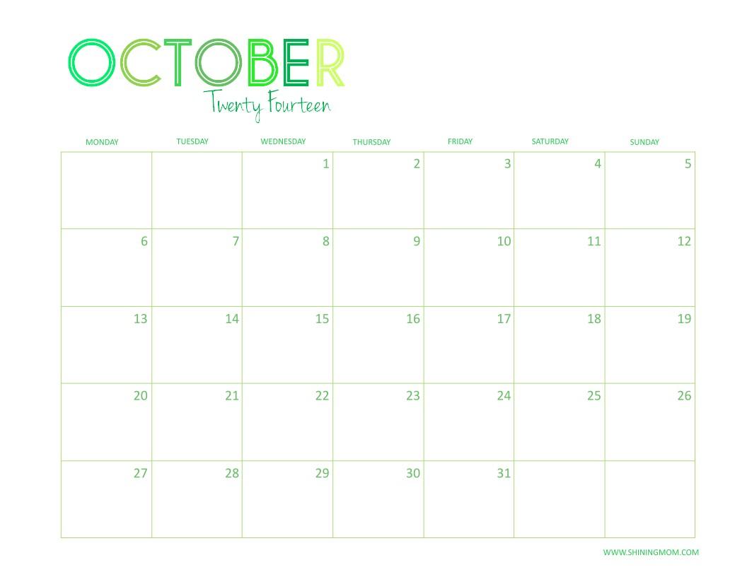 Desktop Calendar Printable Free Printable 2014 Desktop Calendar