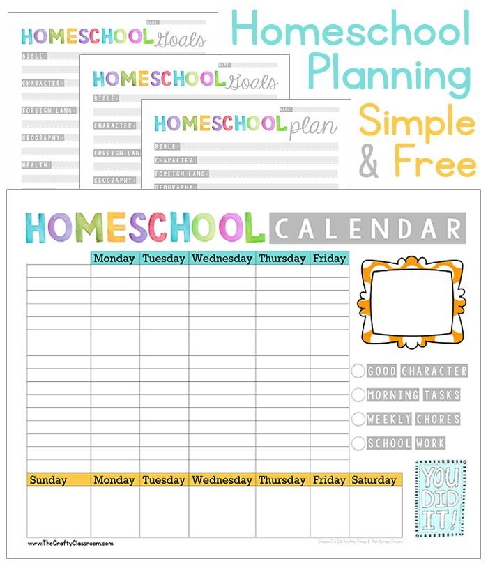Free Homeschool Planner