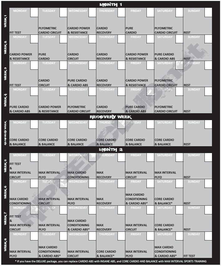 Insanity Printable Calendar Pdf Down Load Your totally Free Insanity Work Out Routine Pdf
