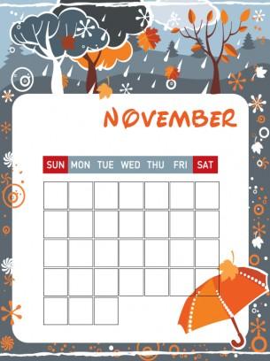 Free line Printable Calendar