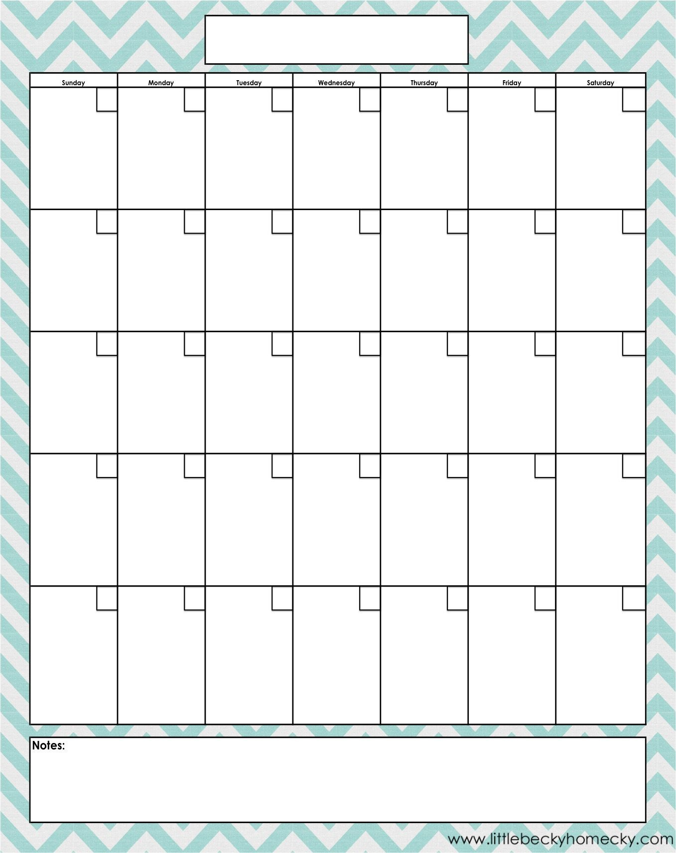 Printable Blank Calendar Pages Monthly Calendar Copy Creating A Planner