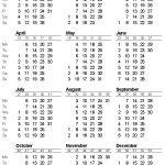 Calendar With Week Numbers 2020.Printable Calendar 2020 With Week Numbers 2020 Calendar Get Free