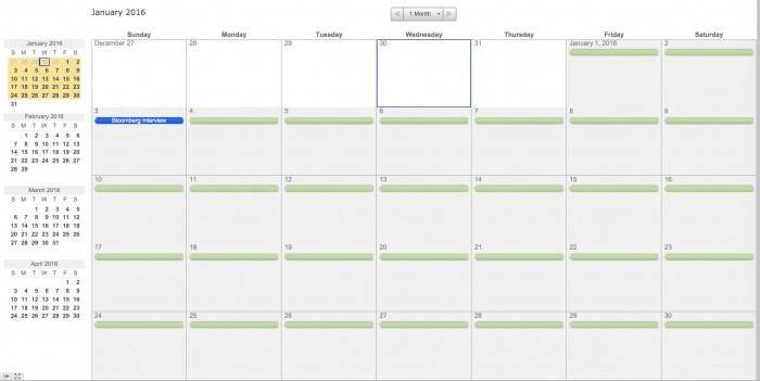 Printable Calendar Custom Date Range