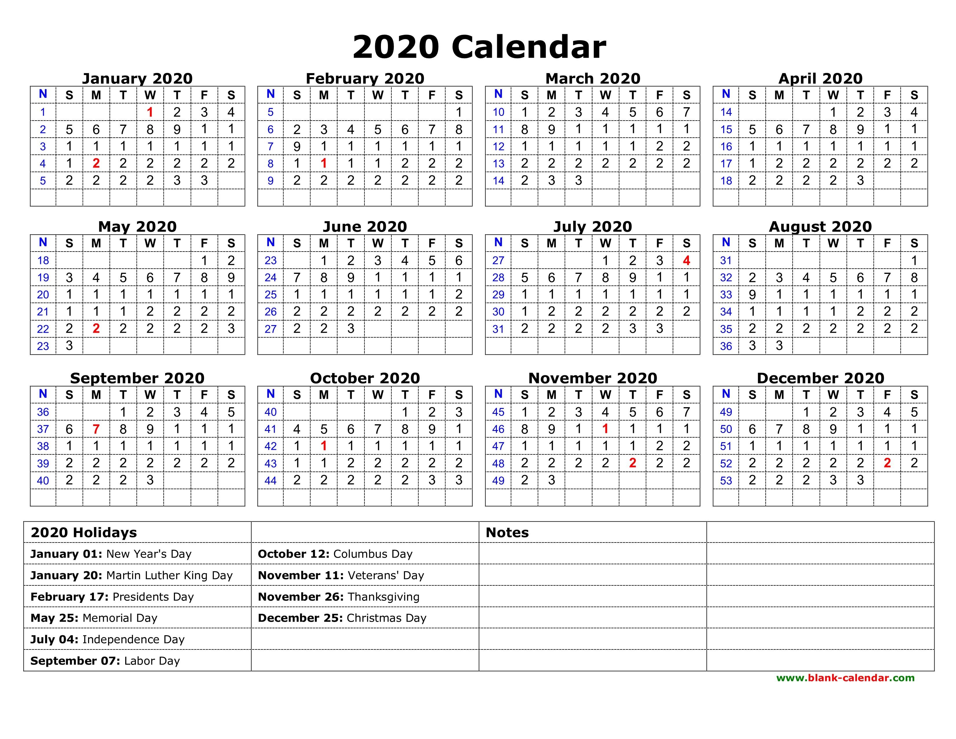 Printable Christmas Calendar 2020 Calendar 2020 Gecce Tackletarts