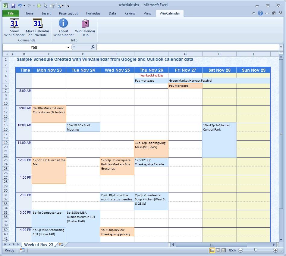 Printable Excel Calendar Wincalendar Excel Calendar Creator with Holidays