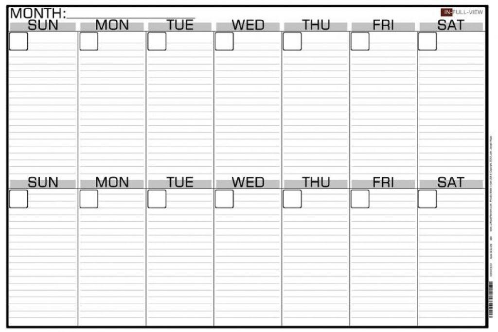 Printable Two Week Calendar