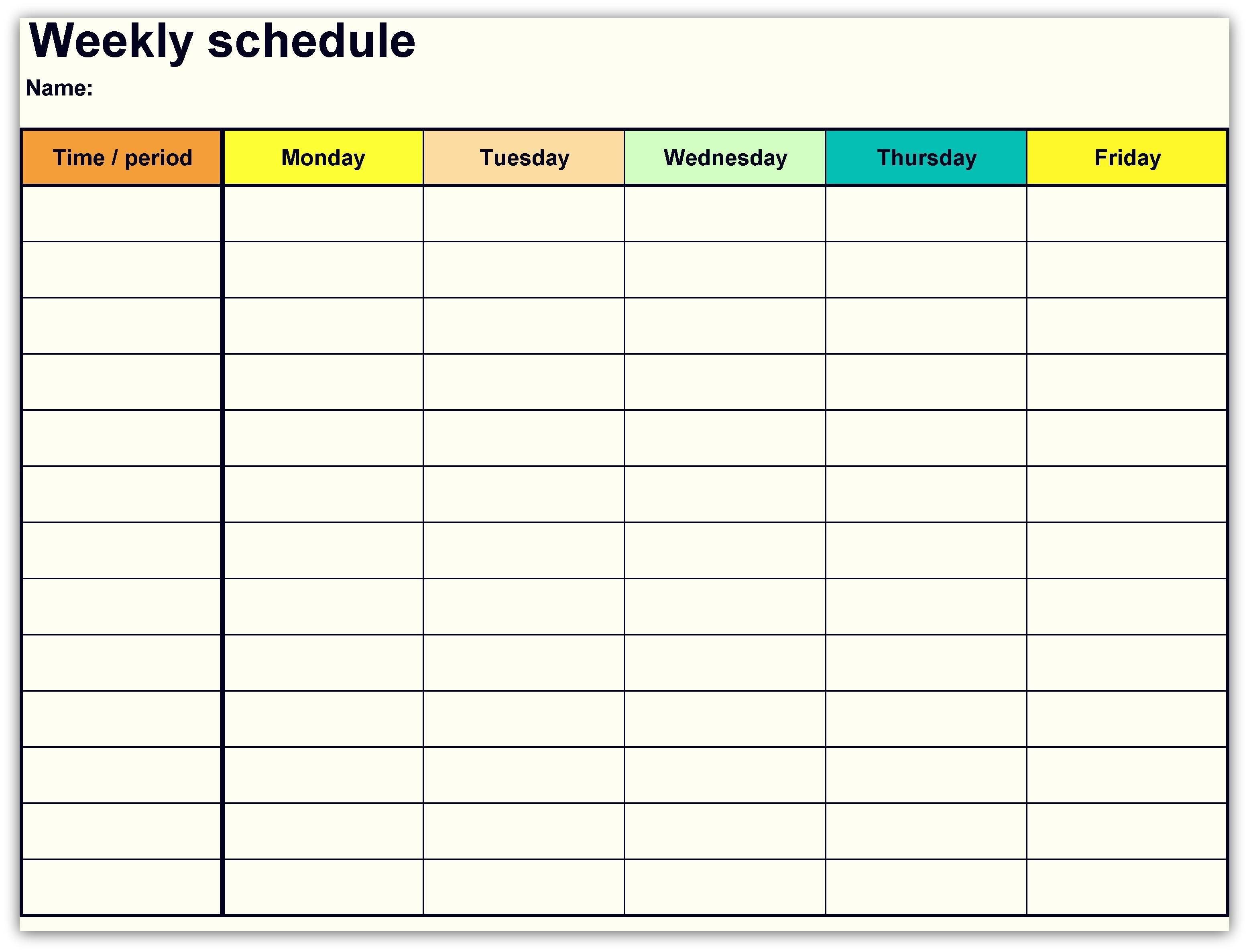 2 Week Printable Calendar 2 Week Calendar Printable Template Pdf Word Excel 2019