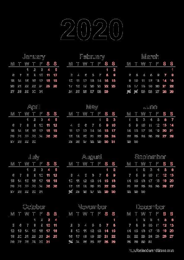 2020 Printable Calendar with Holidays 2019 2018 Calendar Printable with Holidays List Kalender