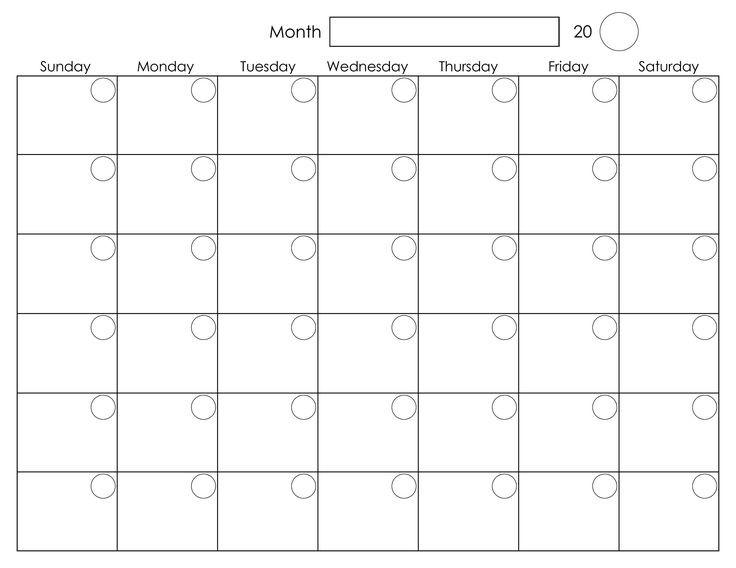 Best Calendar Template Best 25 Blank Monthly Calendar Template Ideas On