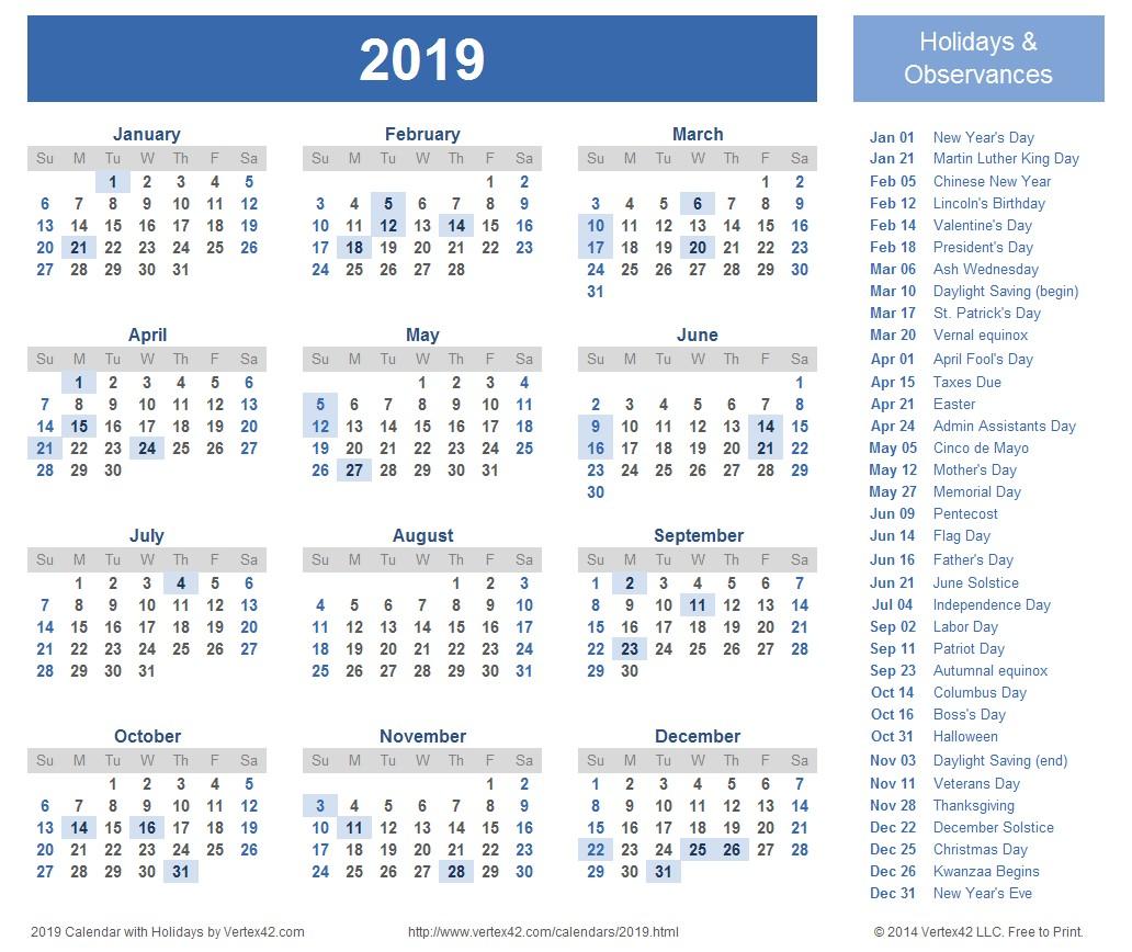 Calendar Word 2019 April 2019 Calendar Word