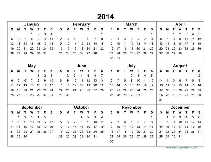 E Printable Calendar Yearly Printable Calander