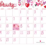 February Calendar Printable Free Printable February Calendar American Greetings Blog
