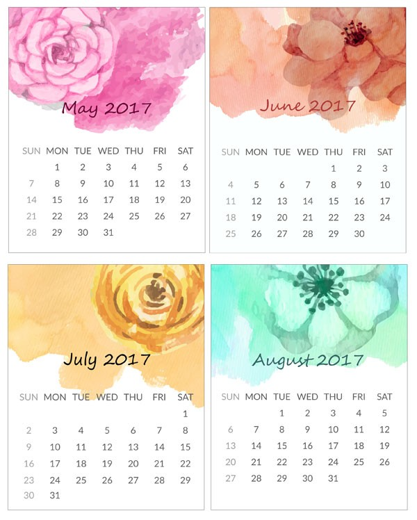 Free Printable Mini Calendar Printable Mini Calendar for 2016 Free to Download and Print