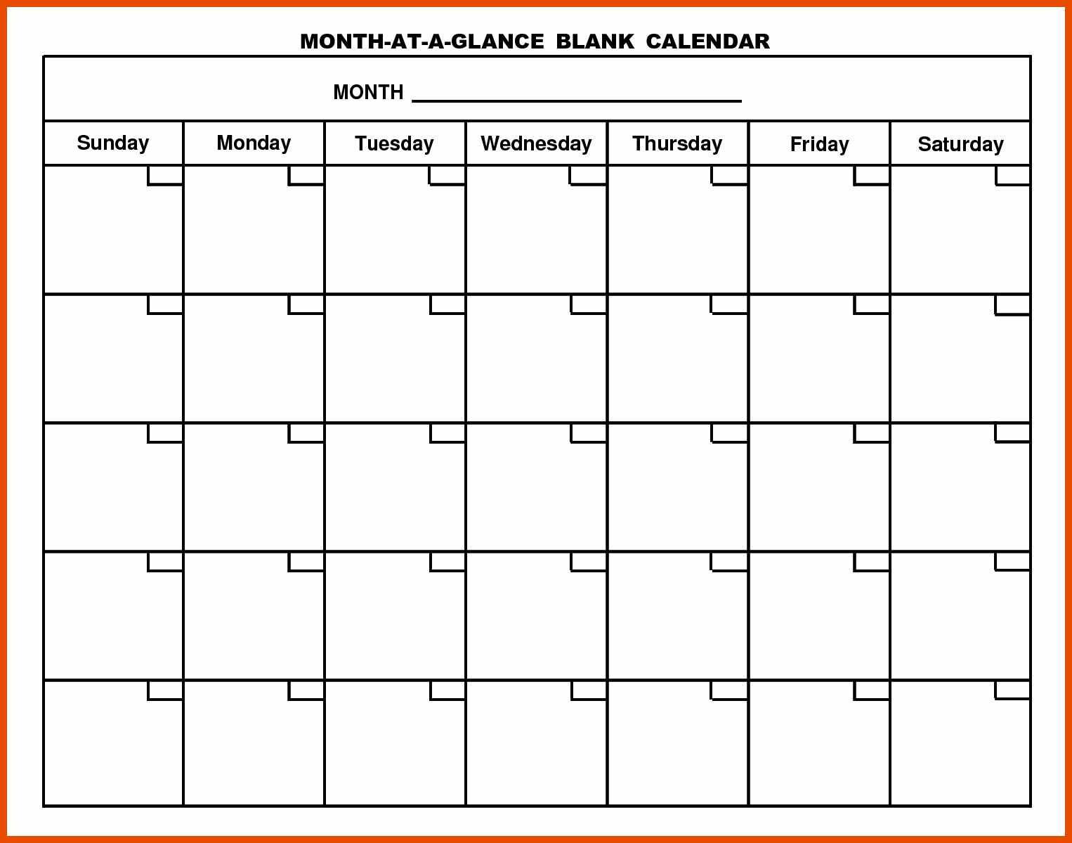 8 9 generic calendar
