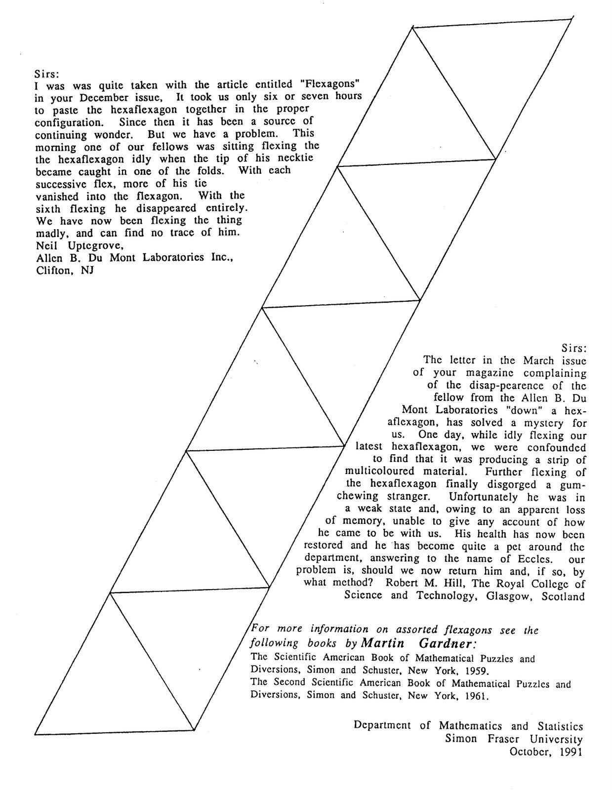 Hexaflexagon Printable Hexaflexagon Directions and Templates