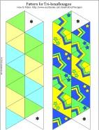 How to Make a Flexagon Geometric Toys to Make Aunt