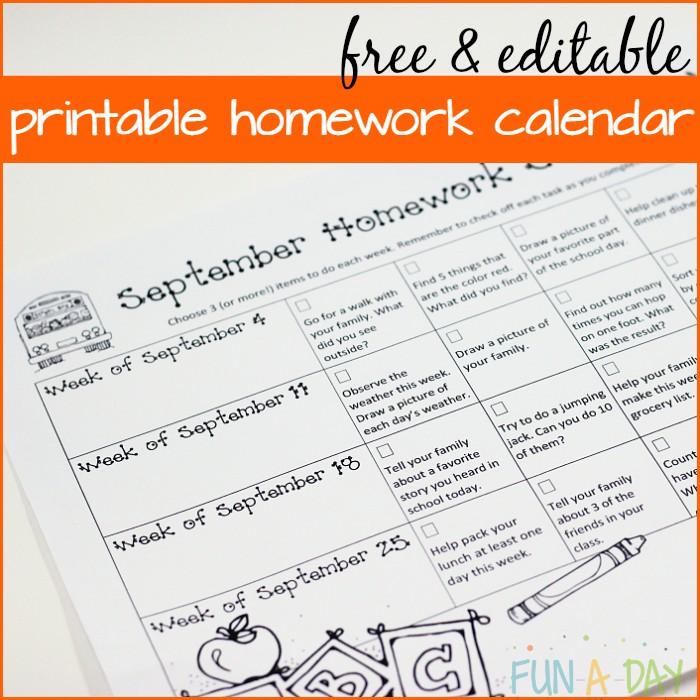 THE Best Way to Handle Kindergarten and Preschool Homework